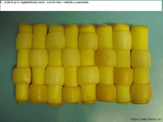 Соленый закусочный торт. Идеи оформления к ПАСХЕ (28) (640x478, 101Kb)