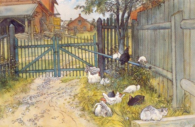 Carl-Larsson-The-Gate (648x423, 307Kb)