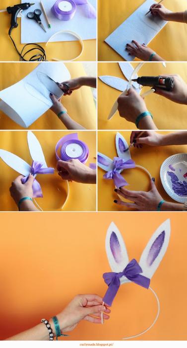 Стильные ушки кролика. Ободок для утренника (3) (377x700, 265Kb)