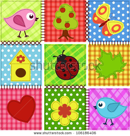 stock-vector-patchwork-with-birds-and-birdhouses-baby-seamless-background-106186406 (450x470, 115Kb)