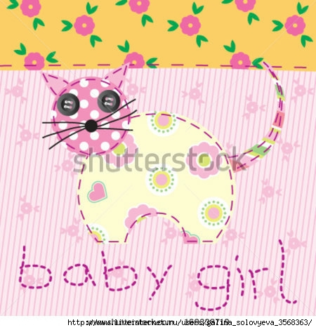 stock-vector-baby-girl-pink-patchwork-with-cat-169338719 (450x470, 135Kb)