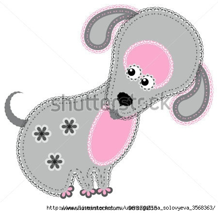 stock-vector-fabric-animal-cutout-dog-cute-animal-character-in-decorative-style-on-white-96859255 (450x438, 83Kb)