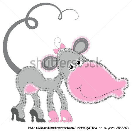 stock-vector-fabric-animal-cutout-monkey-cute-animal-character-in-decorative-style-on-white-background-97197437 (450x448, 83Kb)