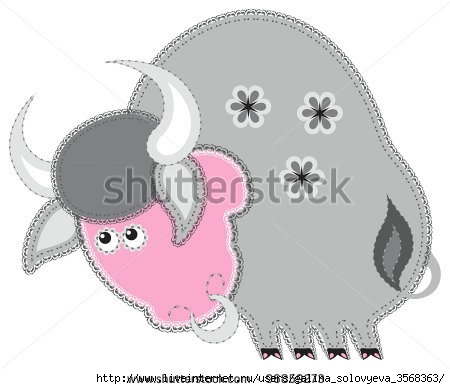 stock-vector-fabric-animal-cutout-ox-cute-animal-character-in-decorative-style-on-white-background-96859273 (450x389, 72Kb)