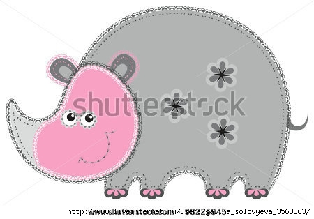 stock-vector-fabric-animal-cutout-rhino-cute-animal-character-in-decorative-style-on-white-background-98225945 (450x314, 62Kb)