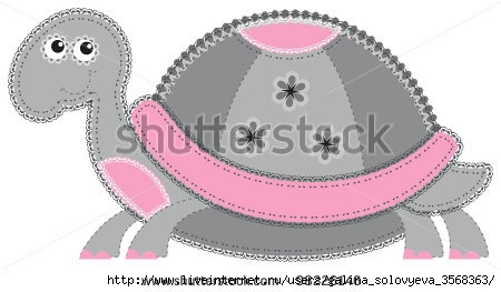 stock-vector-fabric-animal-cutout-turtle-cute-animal-character-in-decorative-style-on-white-background-98226146 (450x263, 65Kb)