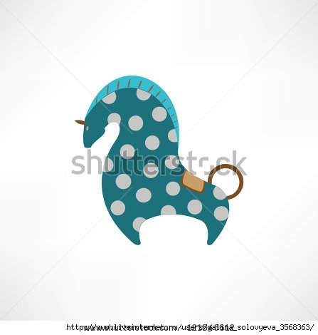 stock-vector-illustration-of-a-horse-121843612 (447x470, 52Kb)
