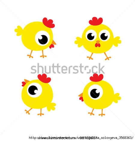 stock-vector-little-cute-chicky-90760667 (450x470, 65Kb)