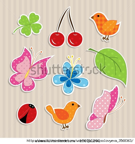 stock-vector-scrapbook-elements-cute-nature-textile-stickers-106711259 (441x470, 121Kb)