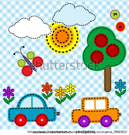 stock-vector-sewing-background-fabric-for-kids-104800895 (450x470, 180Kb)