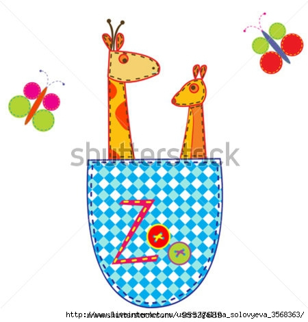 stock-vector-zoo-illustration-with-giraffe-and-kangaroo-in-a-pocket-95537689 (450x470, 97Kb)