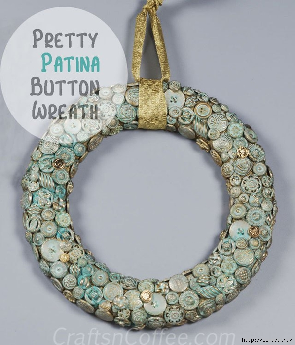 diy-patina-button-wreath (598x700, 251Kb)