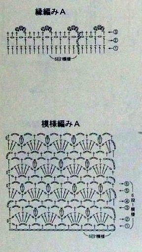 钩针:套装(上衣+披肩) - maomao - 我随心动