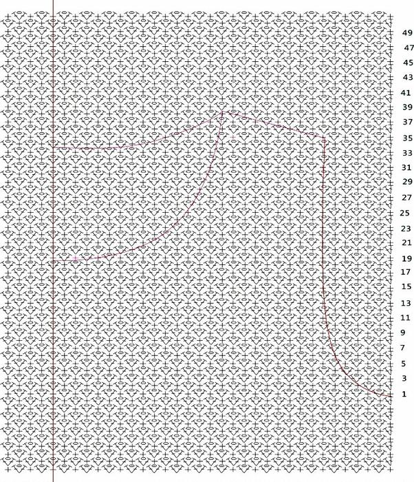 sinee-platye-3 (602x700, 412Kb)