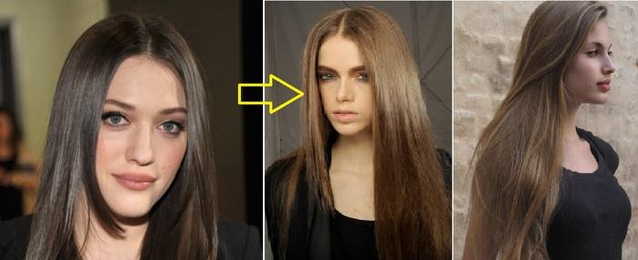 Как сделать волосы на тон 324