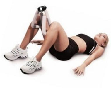 убрать жир коленей внутренней
