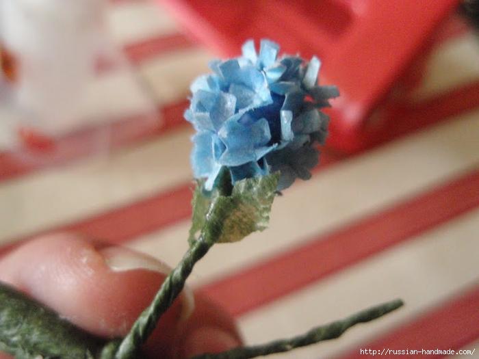 Цветы гортензии из бумаги. Мастер-класс (27) (700x525, 229Kb)
