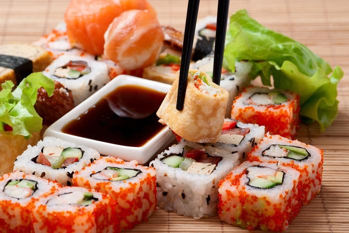 Экзотическая любимая еда – суши thumbnail