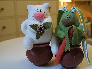 Весёлые игрушки из флиса...Легко и просто... | Ярмарка Мастеров - ручная работа, handmade/3979564_igrushkiflis (300x225, 23Kb)