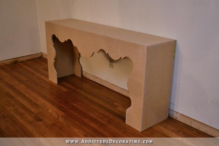 Как сделать консольный столик