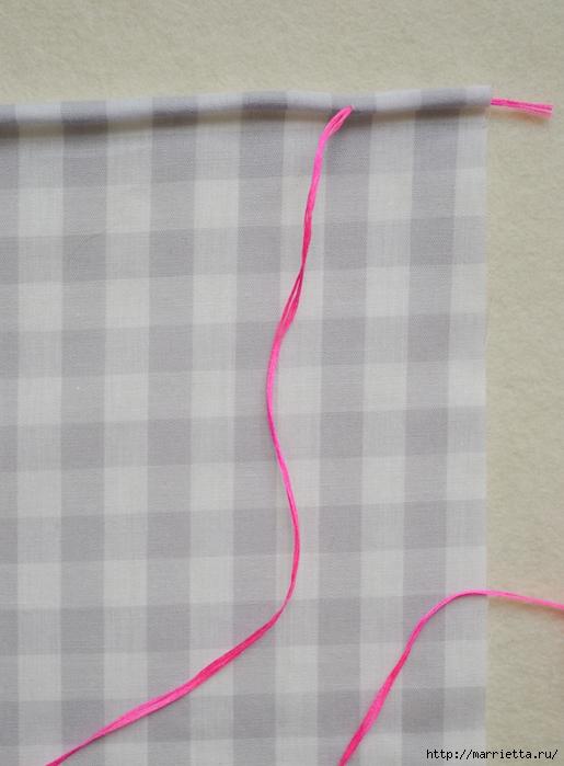Обработка края кухонного полотенца, без швейной машинки (7) (515x700, 227Kb)