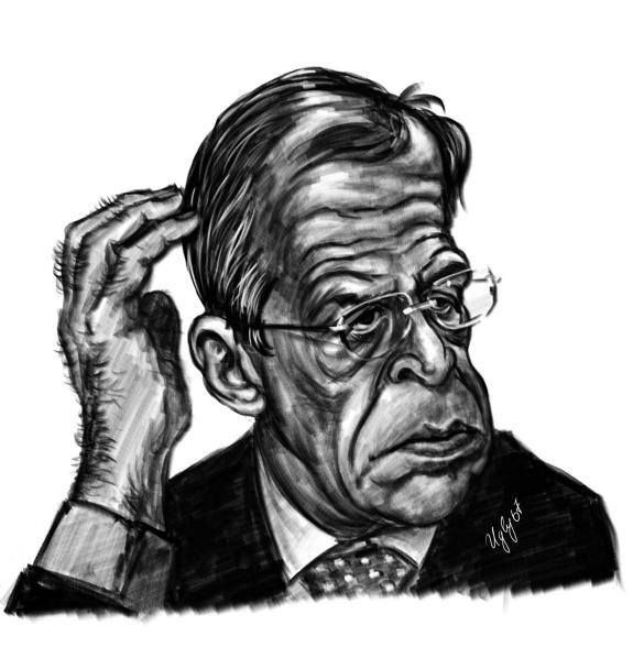 Картинки по запросу Лавров Карикатура