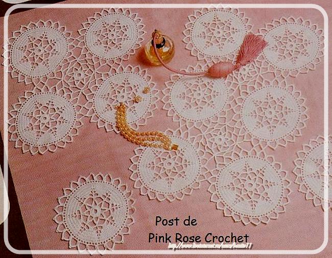 Centrinho  Estrela Crochet Star Doily (650x505, 917Kb)