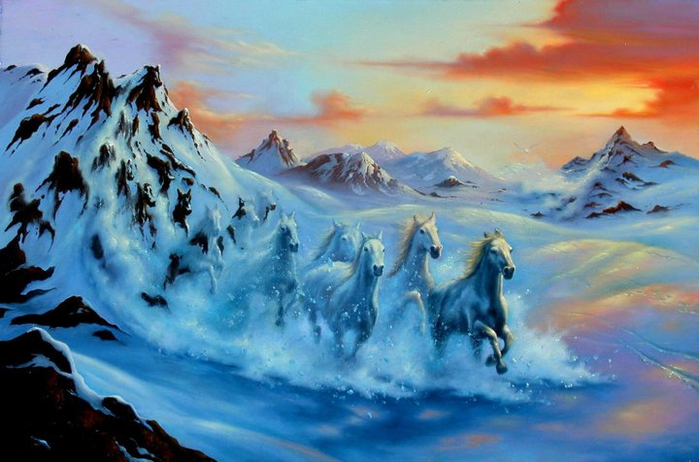 Jim Warren 1949   - American Fantasy and Surrealist painter - Tutt'Art@ (20) (700x462, 347Kb)