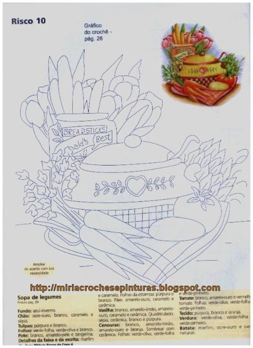 Роспись и обвязка крючком кухонных полотенец (25) (507x700, 303Kb)