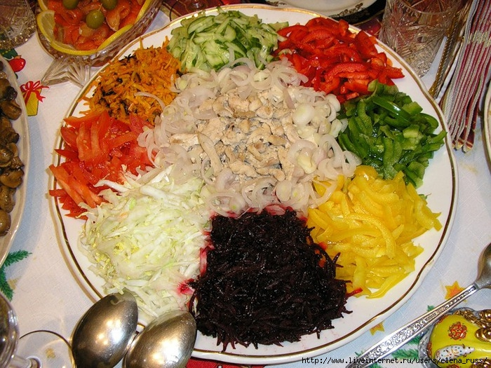 рецепт салат салат ералаш