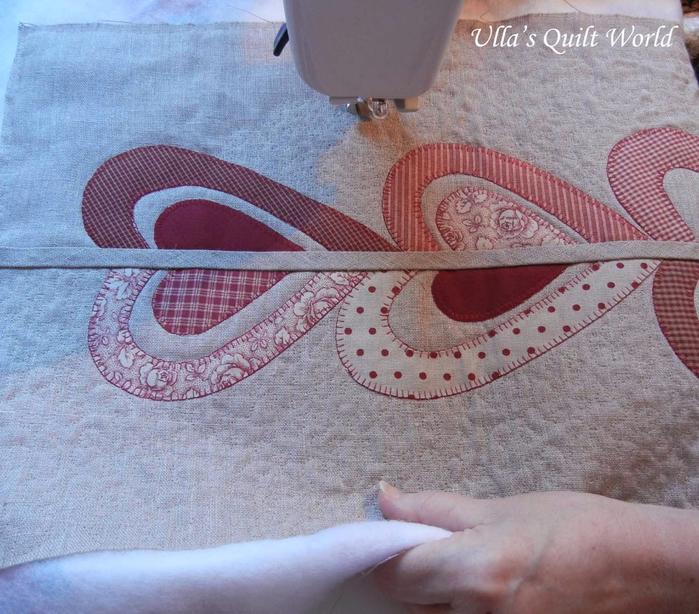 Лоскутное шитье. Красивые салфетки-дорожки с аппликацией и стежкой (2) (700x614, 465Kb)