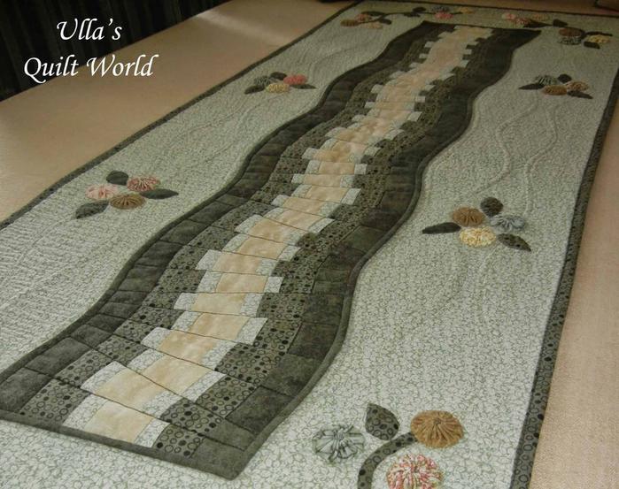 Лоскутное шитье. Красивые салфетки-дорожки с аппликацией и стежкой (8) (700x553, 380Kb)