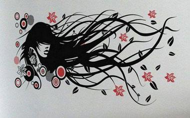 Рисунки для трафаретов для стен своими руками