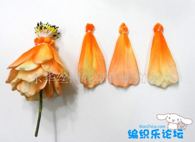 цветы из капрона. мастер-класс (4) (622x453, 489Kb)