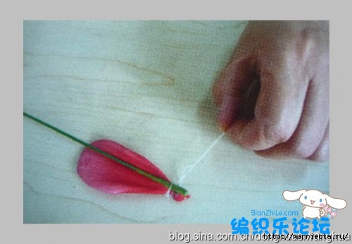 цветы из капрона. мастер-класс (11) (500x346, 84Kb)