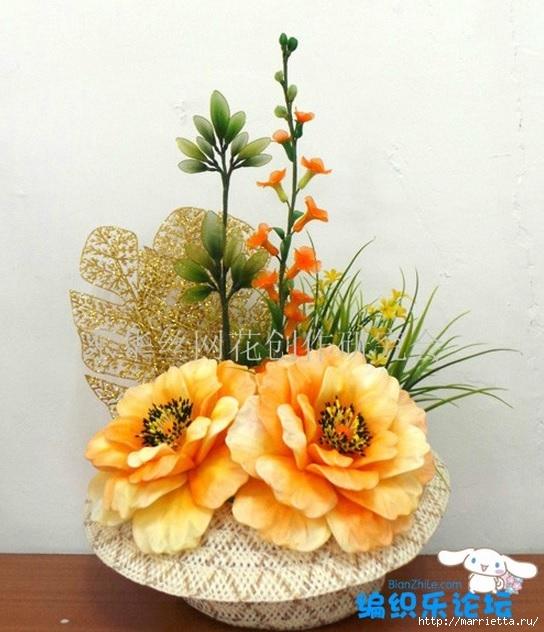 цветы из капрона. мастер-класс (29) (544x632, 204Kb)