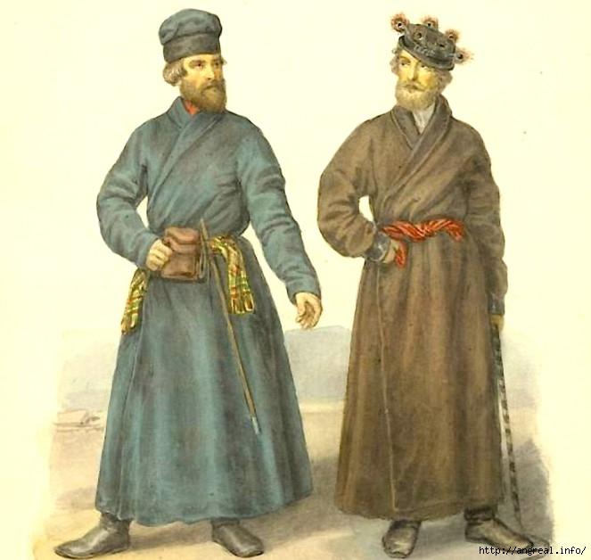 Традиционная русская обежда мужчин