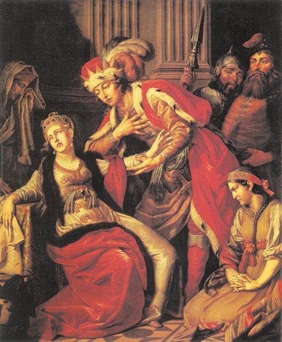 Лосенко Антон Павлович. «Владимир и Рогнеда» 1770г (576x700, 101Kb)