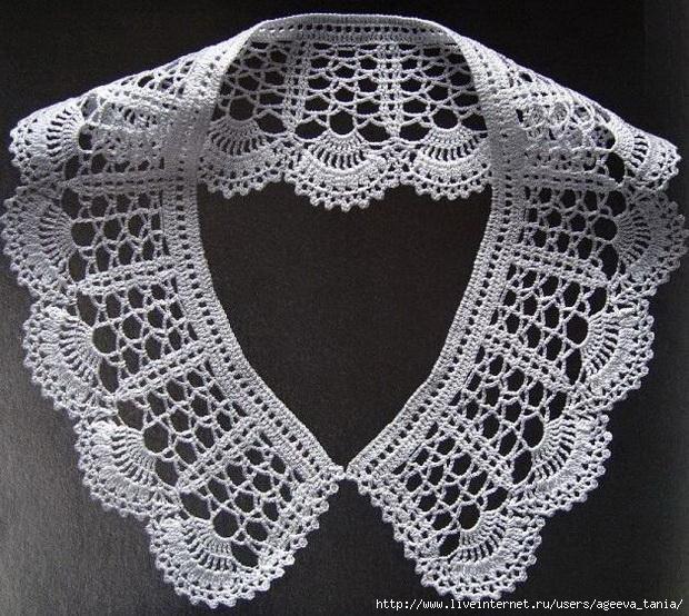 Crochet Women-Peter Pan-Collar