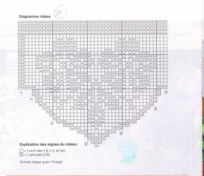 Вяжем крючком салфетки. Журнал (24) (700x604, 316Kb)