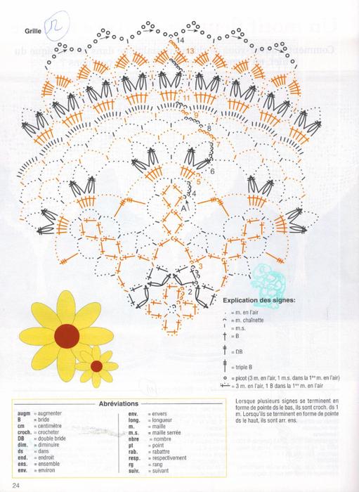 Вяжем крючком салфетки. Журнал (26) (511x700, 368Kb)