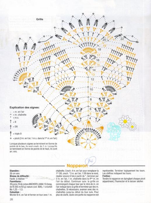 Вяжем крючком салфетки. Журнал (30) (518x700, 370Kb)
