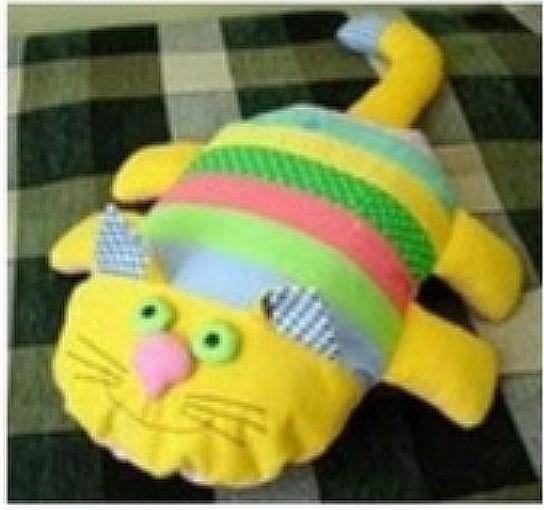 Подушка кот выкройки фото