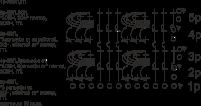 схема общая до 15 ряда