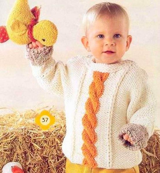 Новое в i по детскому вязанию