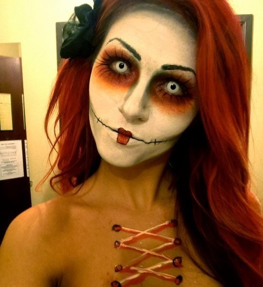 8 Cracked Doll Halloween Makeup Tutorials For A Cute