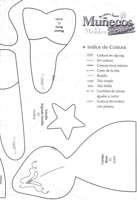 Санта Клаус. Выкройка (2) (438x640, 106Kb)