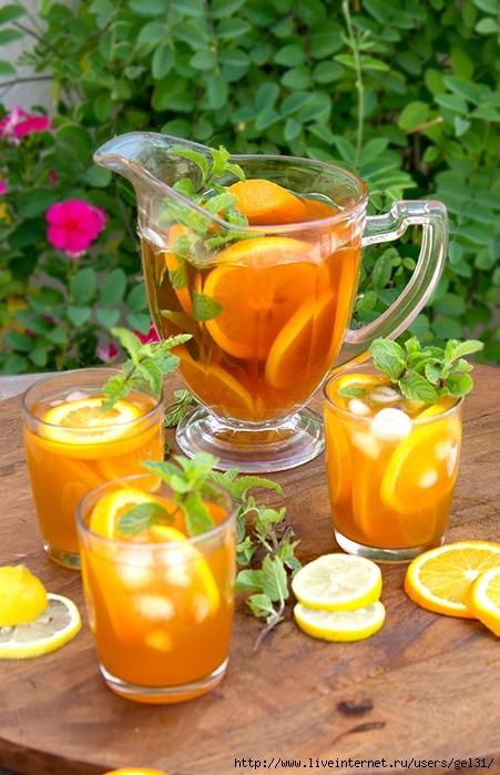 холодний цитрусовий чай (451x700, 267Kb)