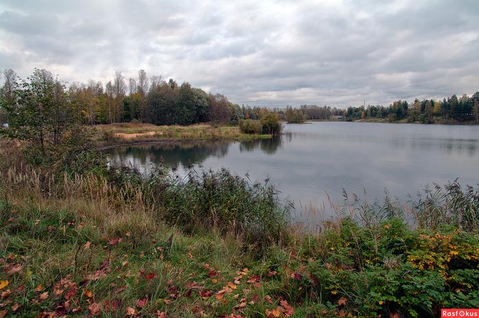 Озеро у перемычки (700x464, 444Kb)