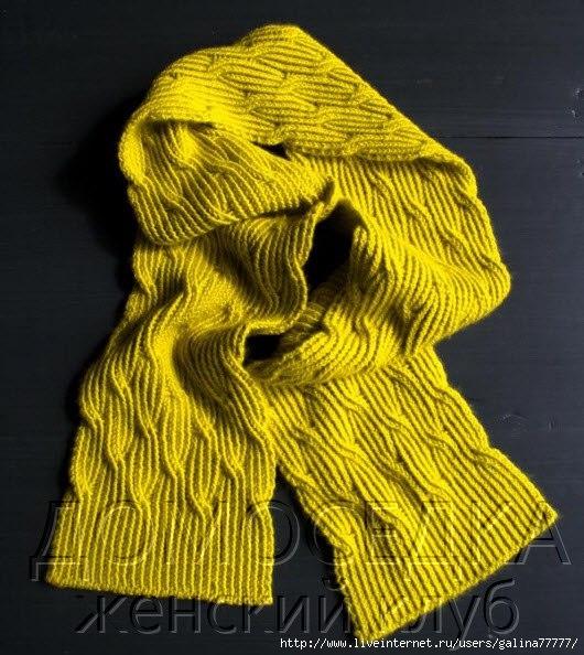 用反别针编织的长围巾 - maomao - 我随心动